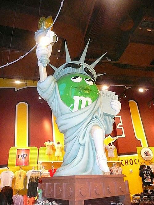 Exemplo de Brand Experience: conheça a loja M&M's World em NY