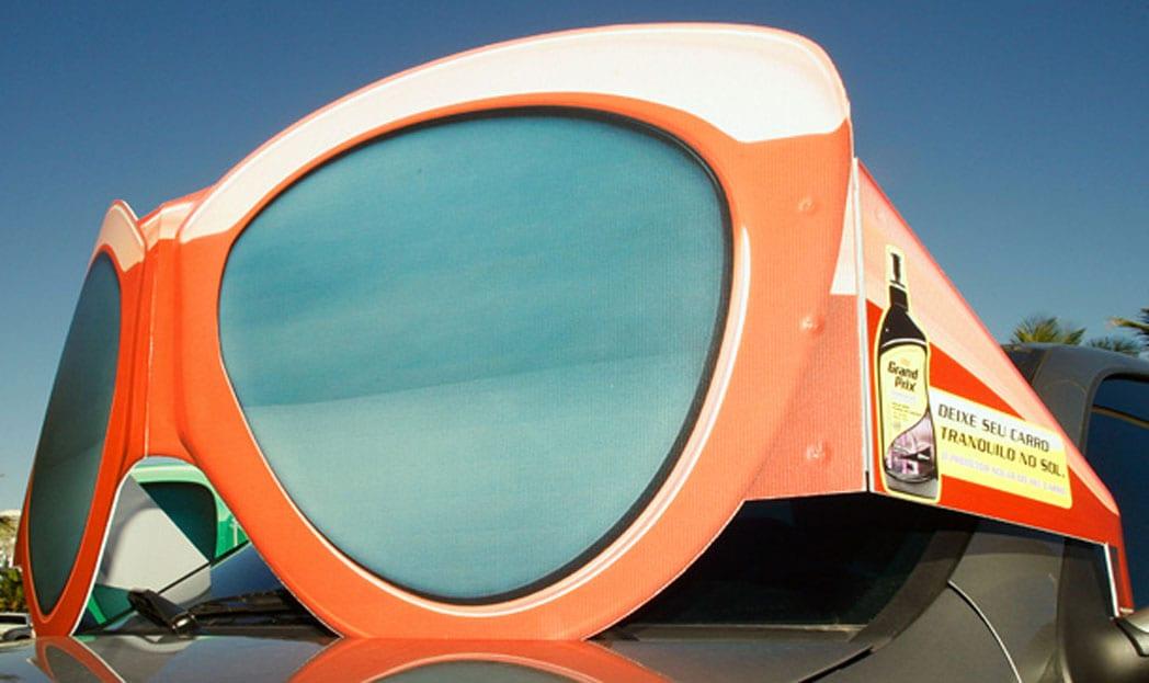 "Grand Prix UV Protector   ""Deixe seu carro tranquilo no sol"""