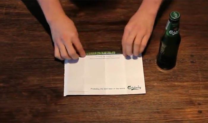 Carlsberg e o seu anúncio que vira um abridor de garrafas