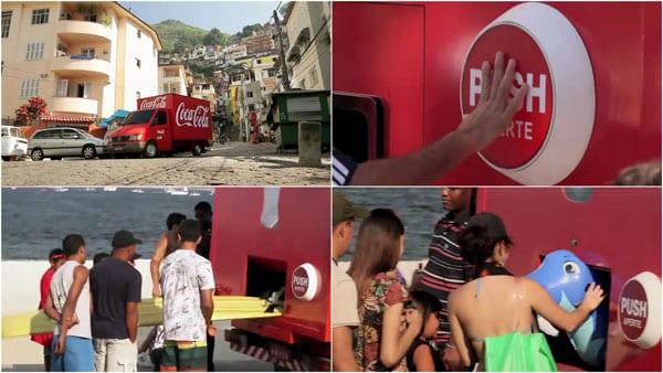 """Depois da """"Máquina da Felicidade"""" agora a Coca-Cola traz o """"Caminhão da Felicidade"""""""