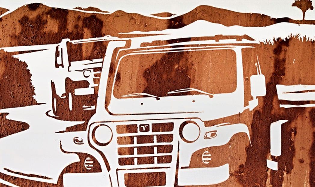 Copa Troller | O primeiro poster feito com lama