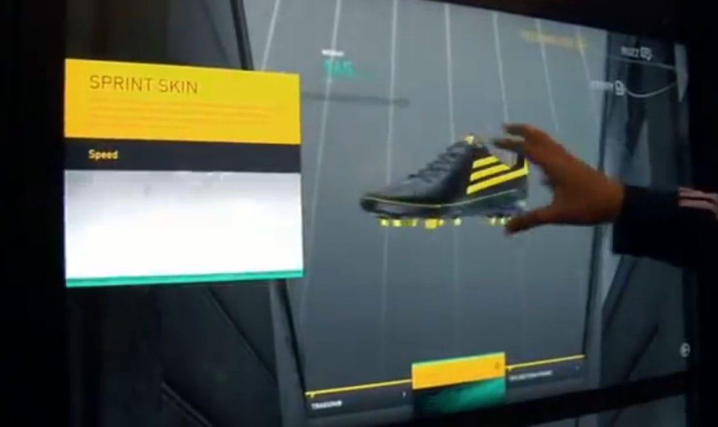 adiVerse Virtual Shoe Wall   A parede interativa da Adidas