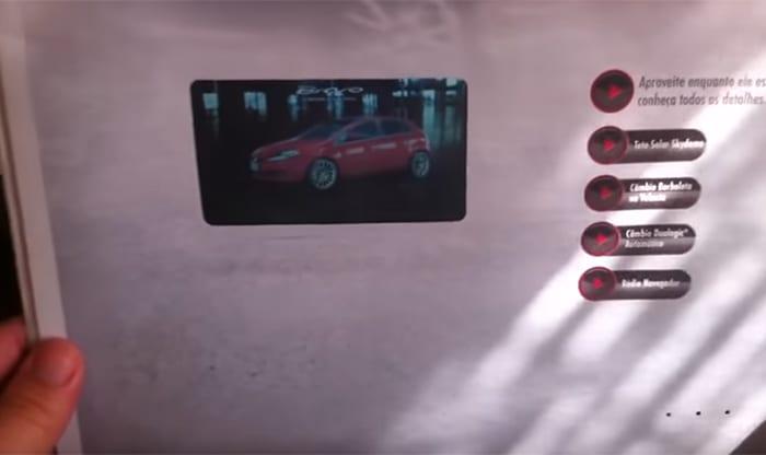 Fiat Bravo | Primeira sobrecapa de jornal com vídeo do Mundo