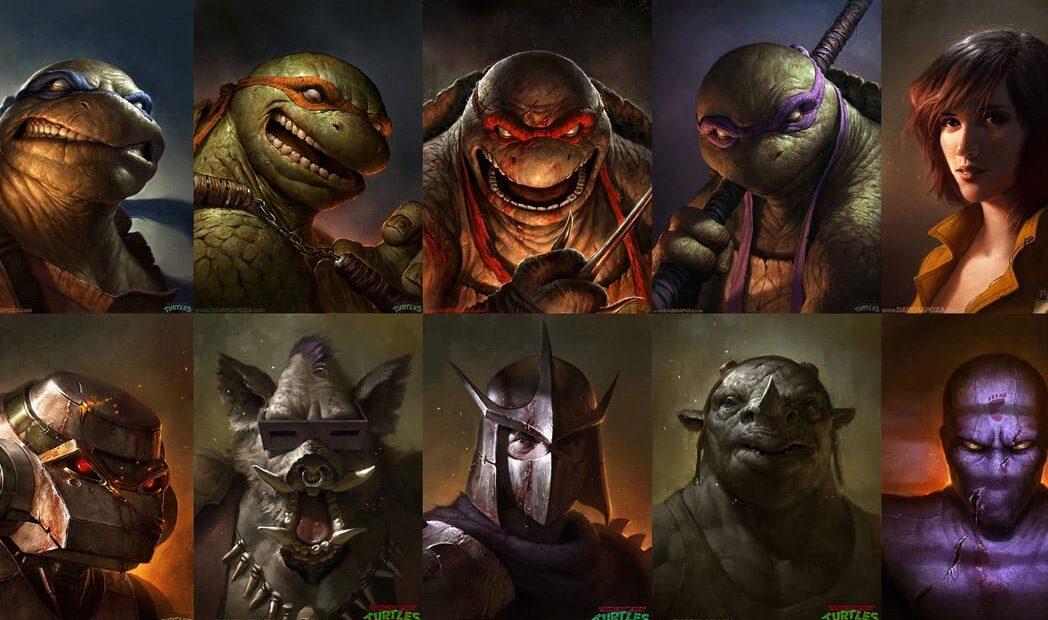 Incríveis ilustrações realistas das Tartarugas Ninja by Dave Rapoza