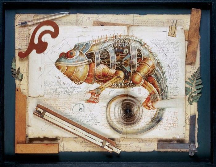 Steampunk ZOO by Gvozdariki @comunicadores
