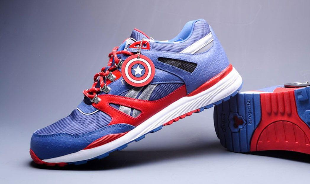 Reebok lança coleção de tênis em parceria com a Marvel