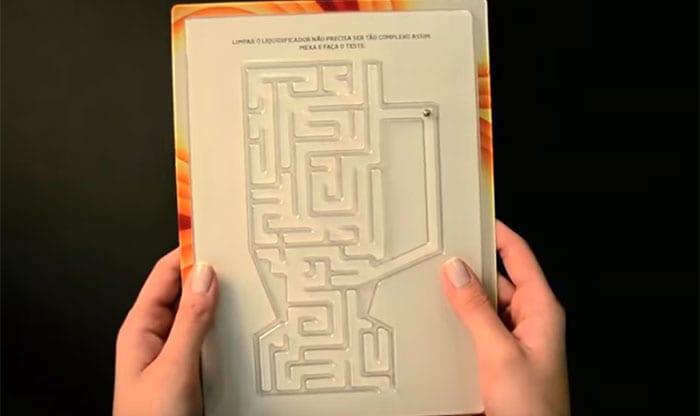 Arno e o seu 'Anúncio Jogo do Labirinto'