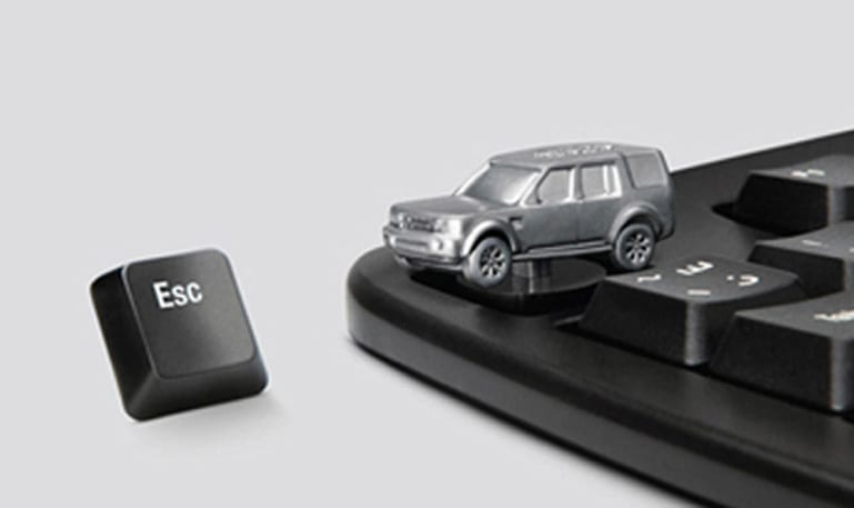 Land Rover tecla esc