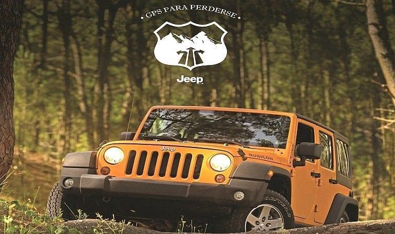 Jeep e o seu GPS para se perder