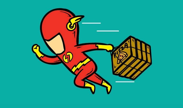 O segundo emprego dos super-heróis