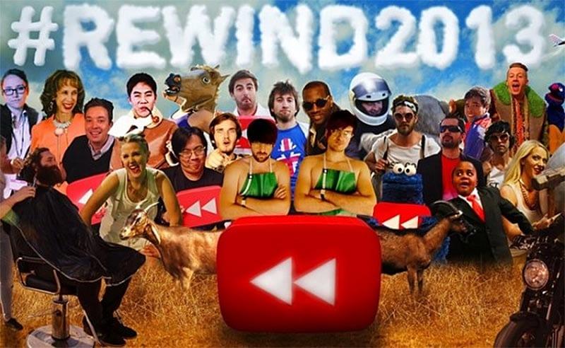 Retrospectiva Youtube 2013