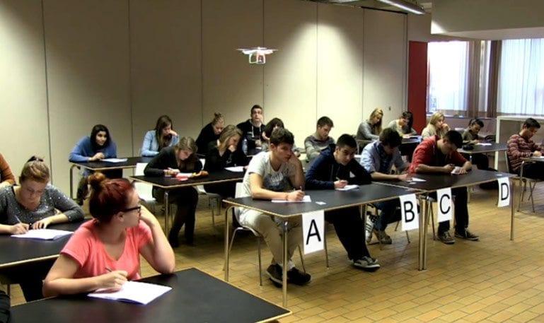 Uma nova utilidade dos drones: impedir que alunos colem nas provas