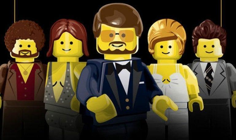 Recriação dos cartazes de filmes indicados ao Oscar em versão LEGO