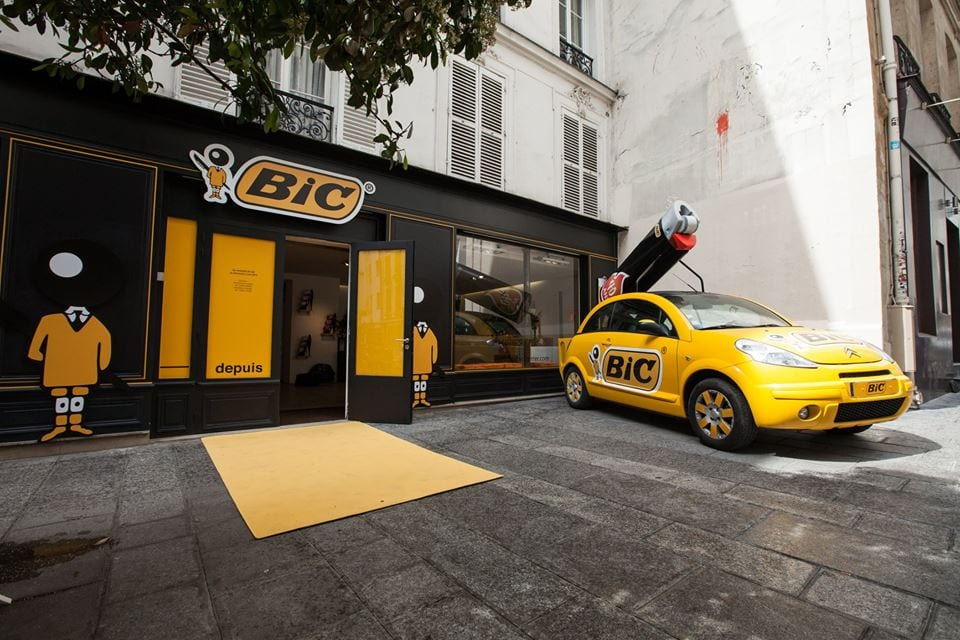 bic pop up store