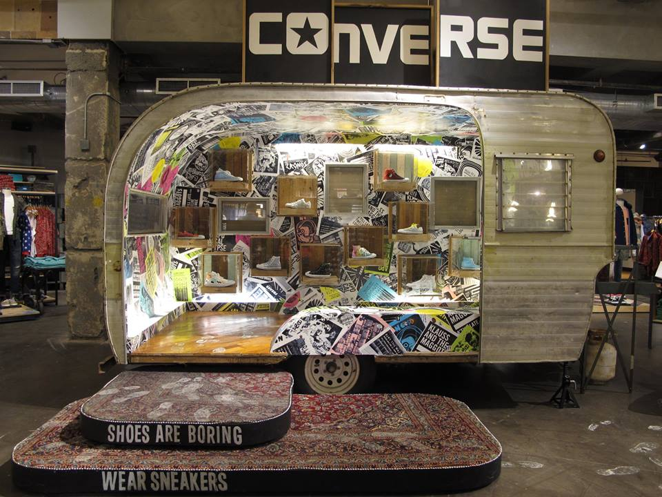 converse pop up store