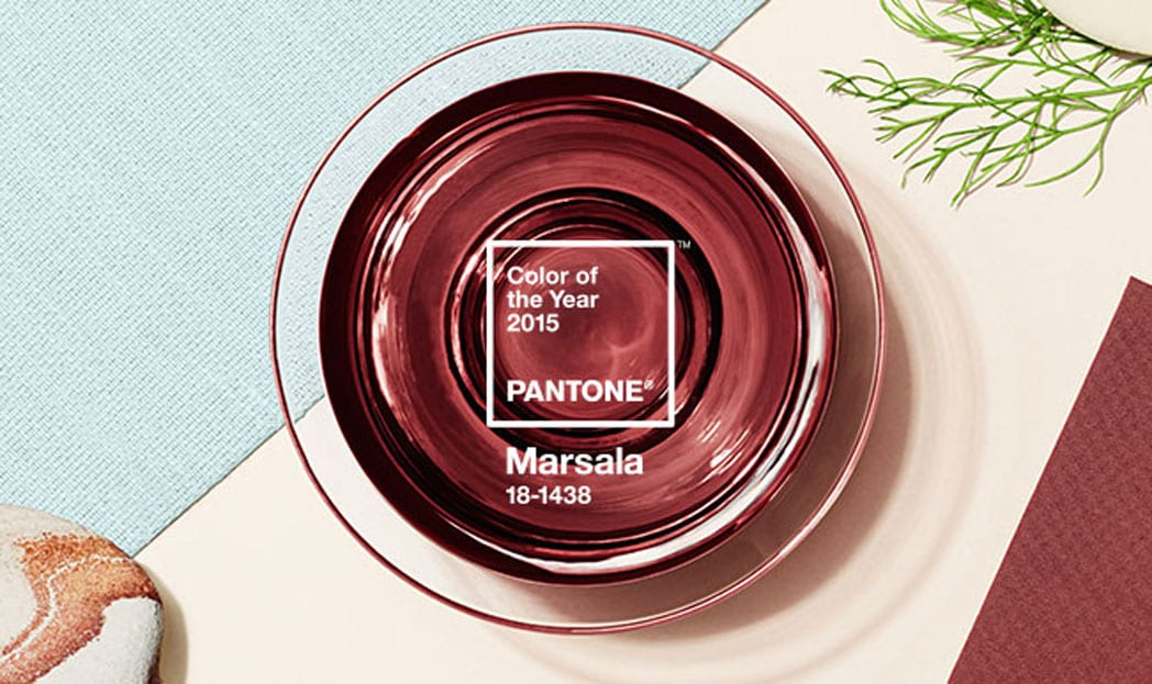 PANTONE revela a cor do ano de 2015: Marsala 18-1438