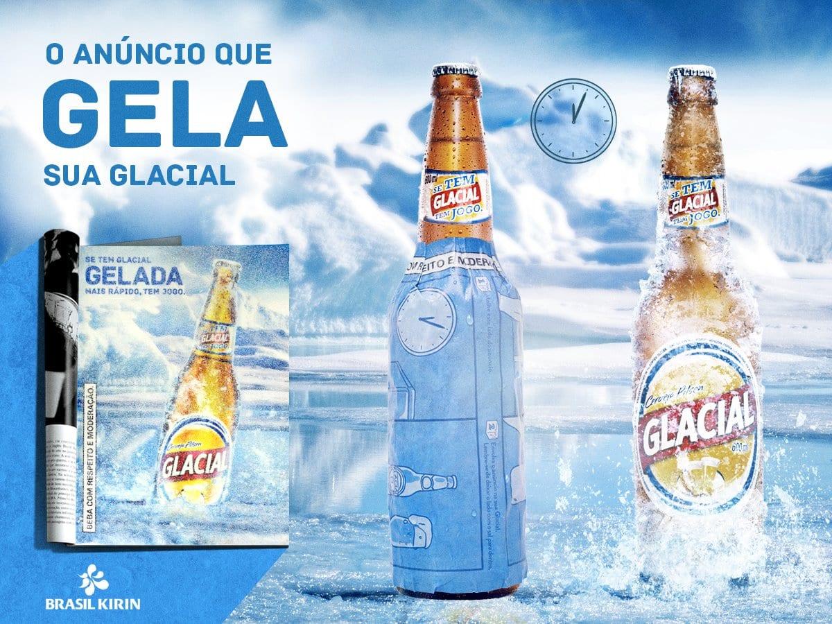 anuncio gela cerveja