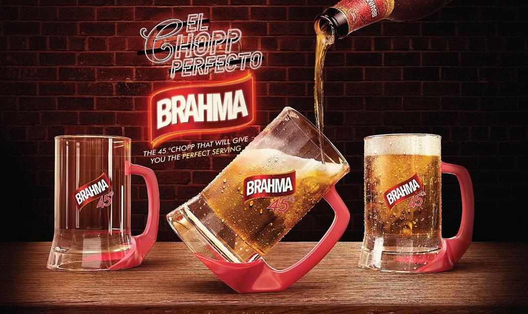 A caneca de chope perfeita da Brahma