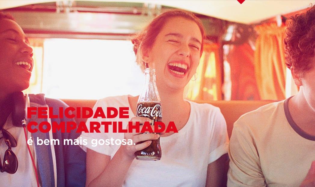 Presenteie seus amigos com uma Coca-Cola através do Twitter