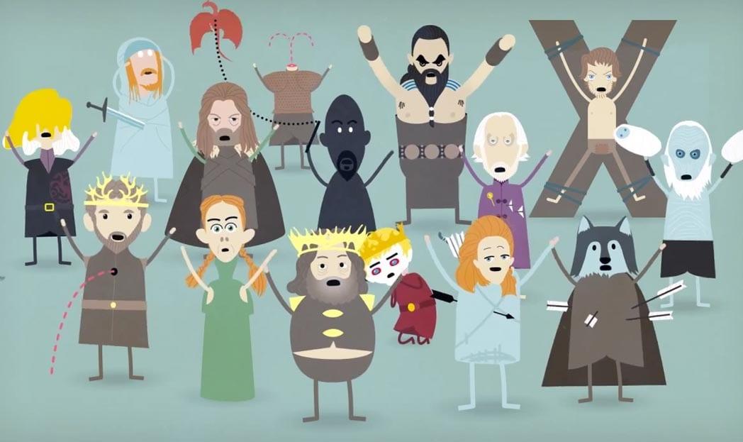 Game of Thrones ganha paródia de Dumb Ways to Die