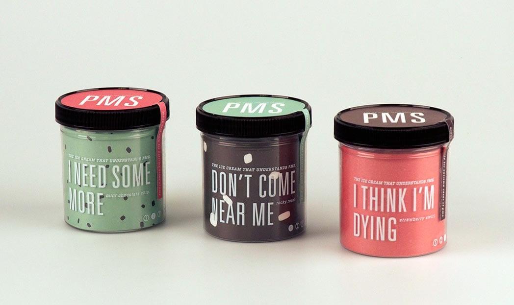 E se a TPM fosse um sabor de sorvete?