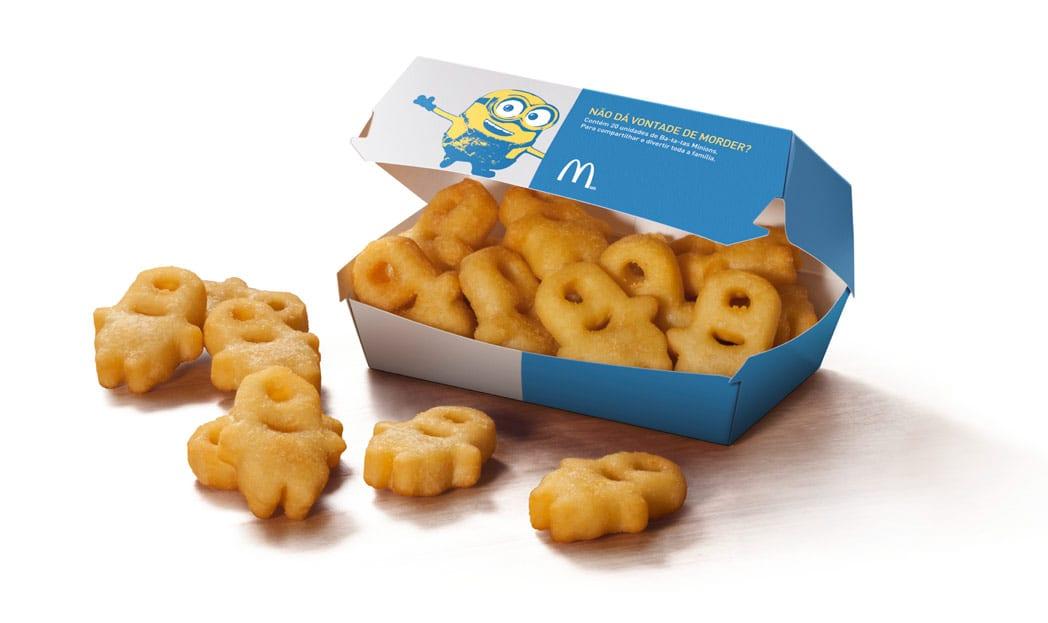 Minions viram batatas especiais do McDonald's