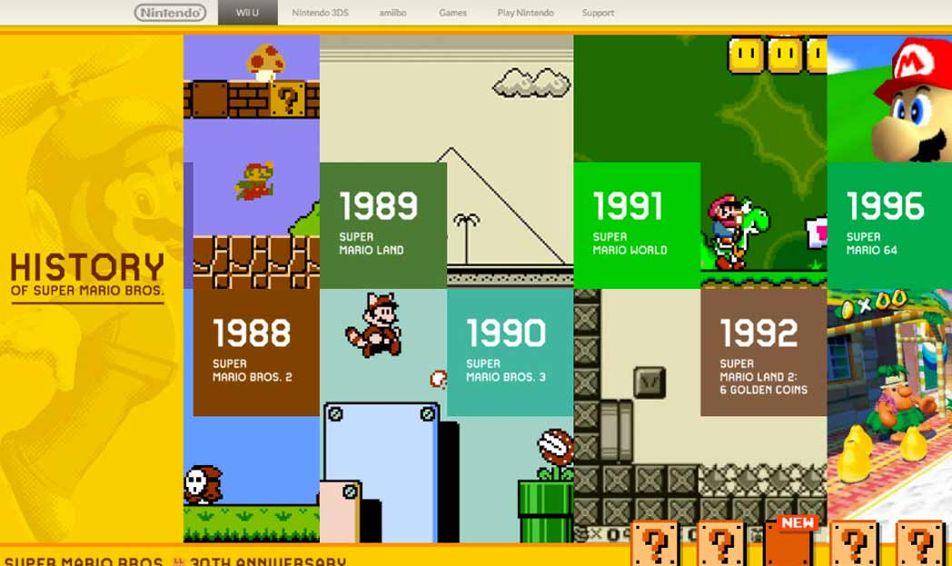 Super Mario Completa 30 anos!