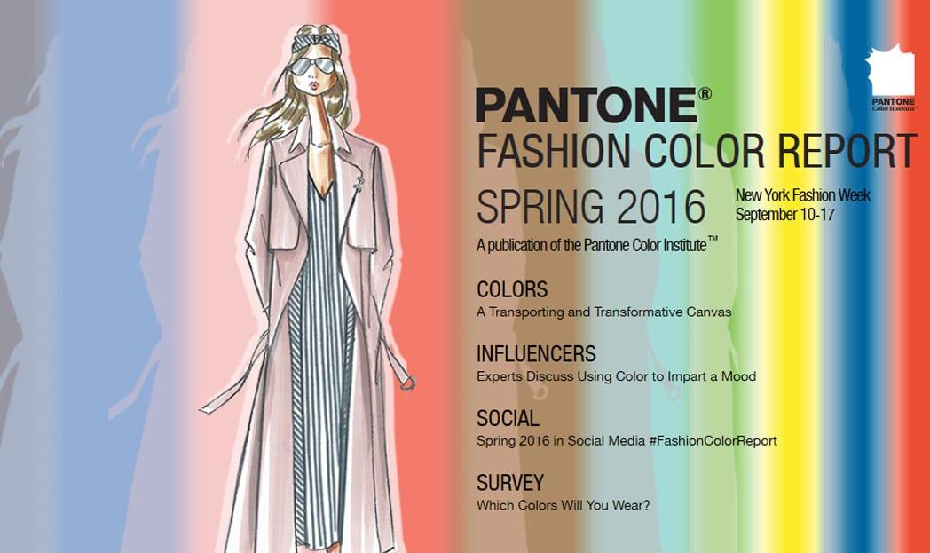 Pantone diz quais serão as cores da moda em 2016