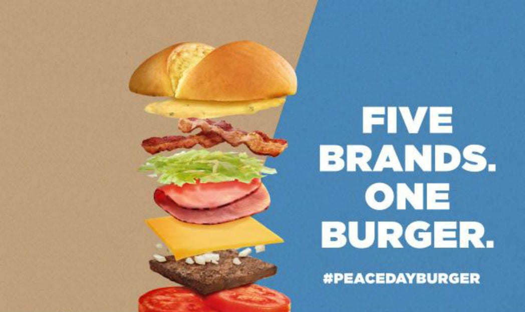 Peace Burger Day