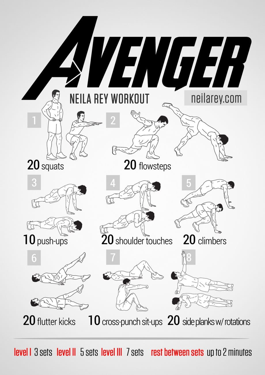 avenger-workout