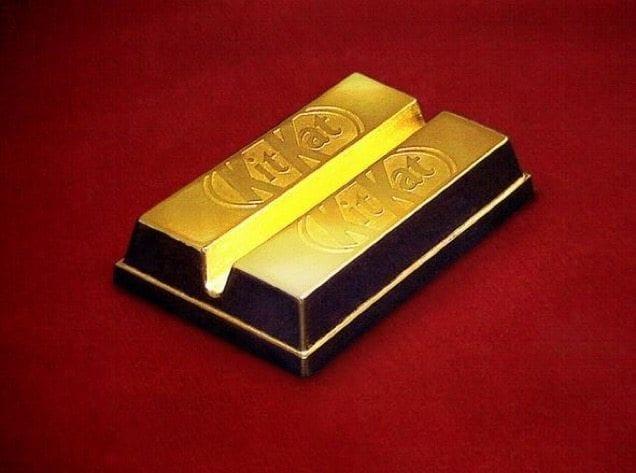 kit kat de ouro