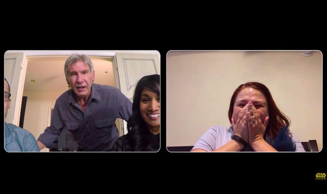 Harrison Ford convoca fãs de Star Wars para fazer o bem