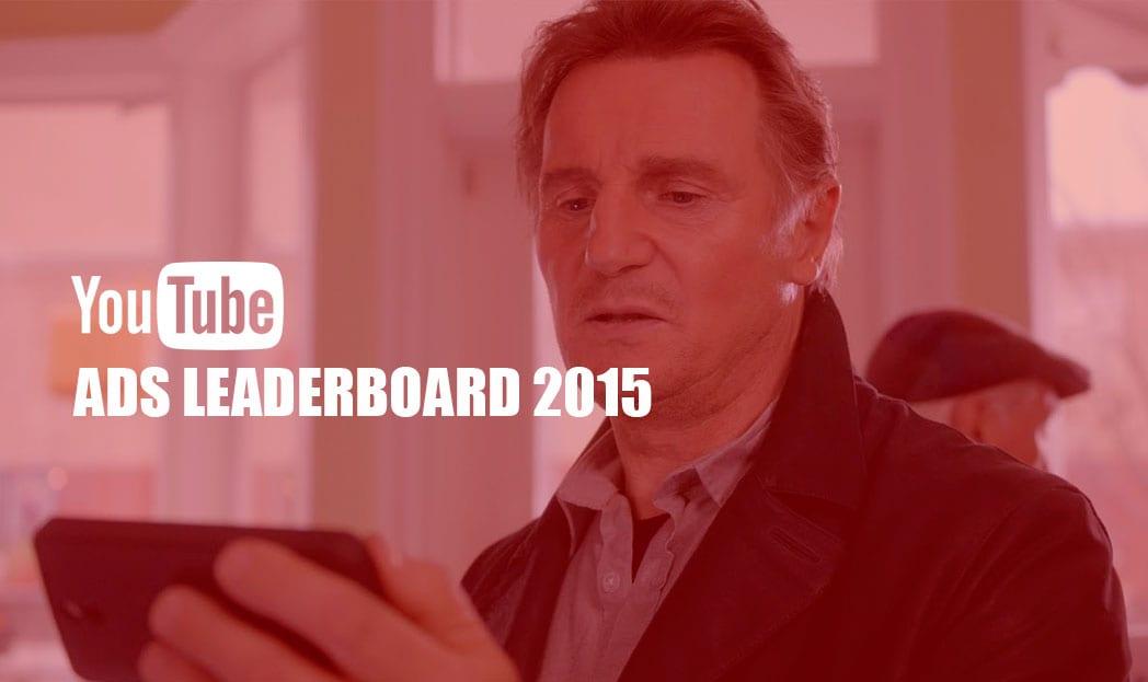 Os comerciais mais vistos no Youtube em 2015