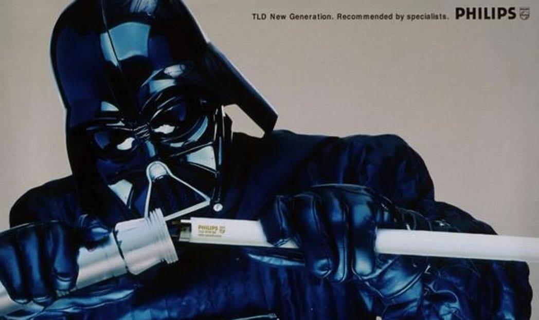 30 anúncios estrelados pelo Darth Vader