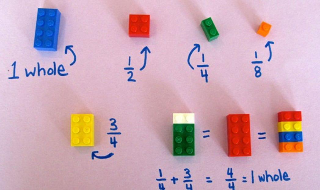 lego educação matemática