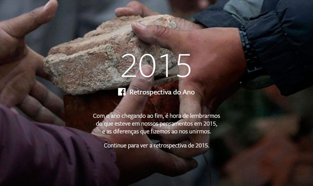 facebook retrospectiva 2015