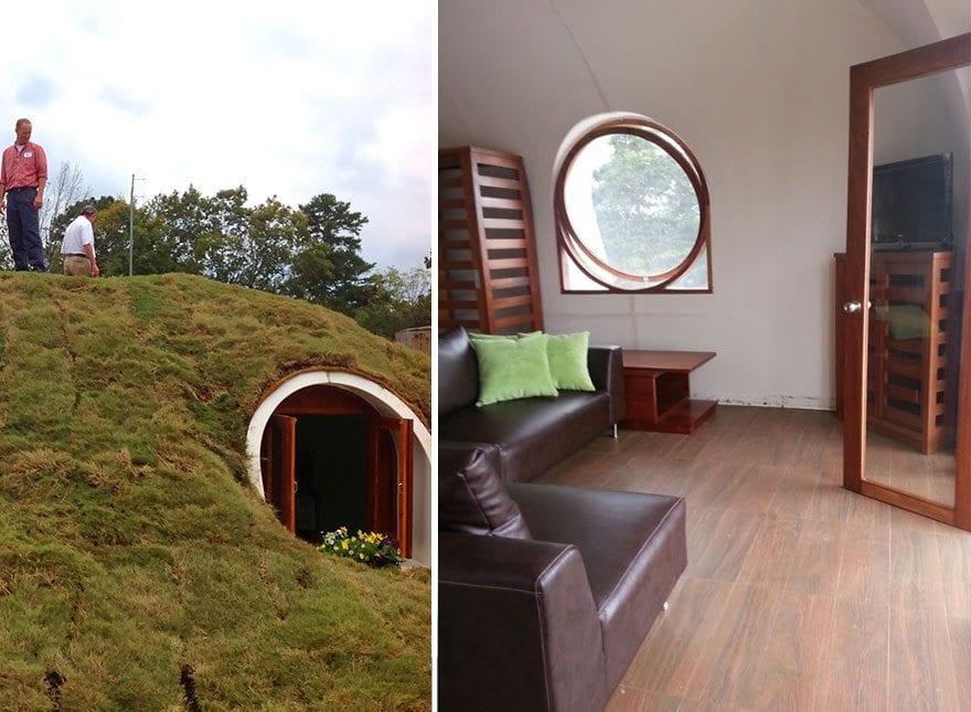 Hobbit: construa uma casa igual a do bilbo