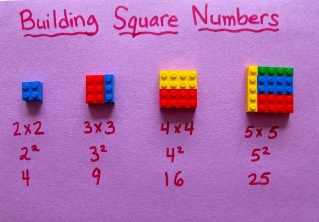 lego para ensinar matemática