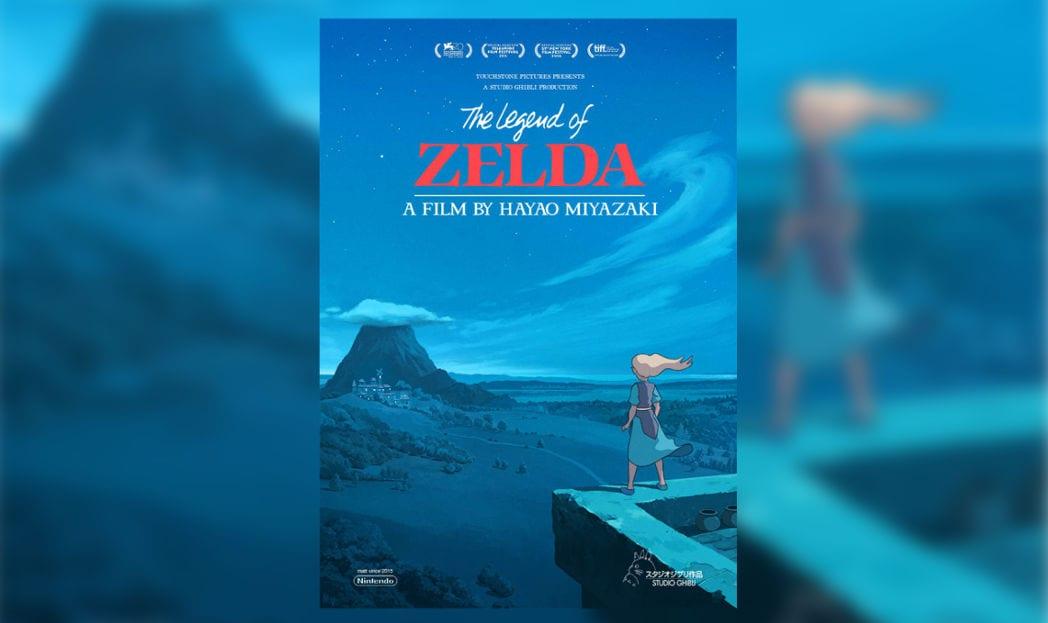 Zelda por Hayao Miyazaki