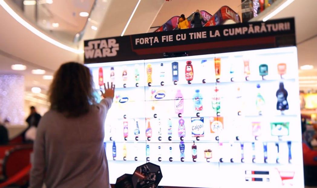 Faça suas compras no mercado usando a força Jedi