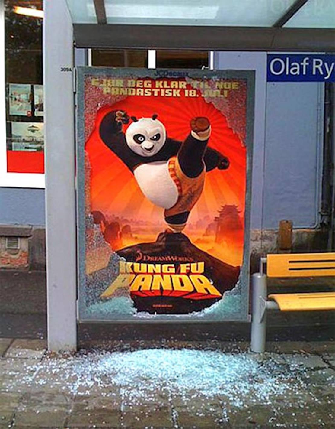 kung fu panda parada