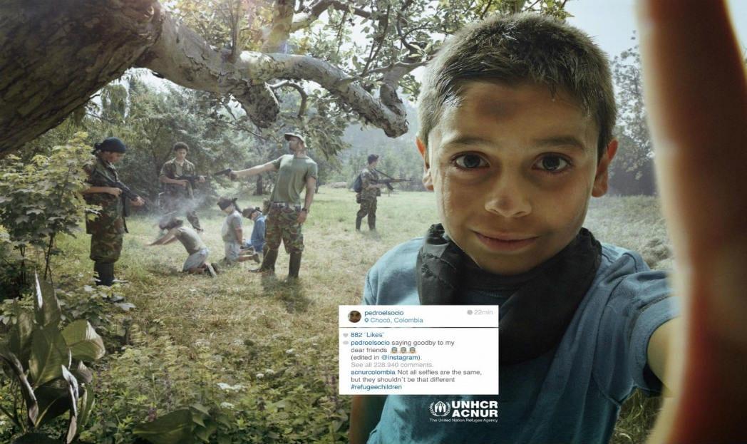 Campanha mostra selfies que ninguém gostaria de ver