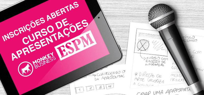 MonkeyBusiness e ESPM lançam 18º edição do curso apresentação: uso, forma e conteúdo