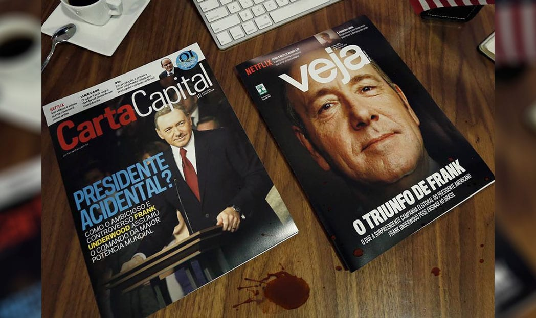 Capas falsas de House of Cards