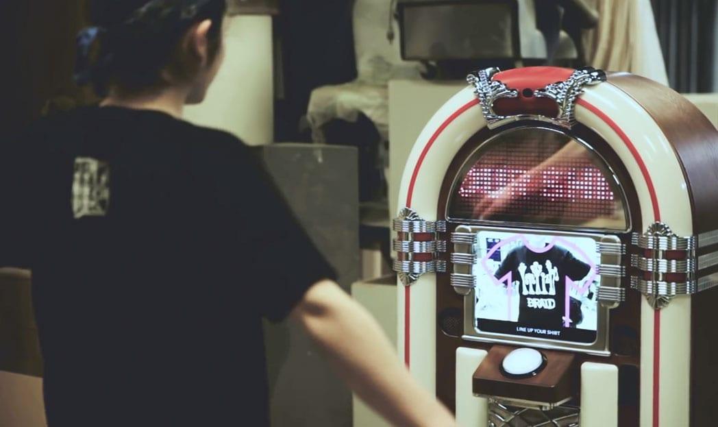 Jukebox do Spotify escaneia sua camisa de banda para selecionar música