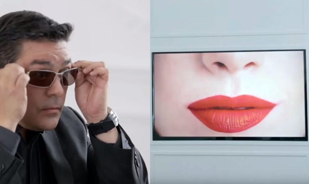 Homens daltônicos veem pela primeira vez a cor vermelha em ação da L'Oréal