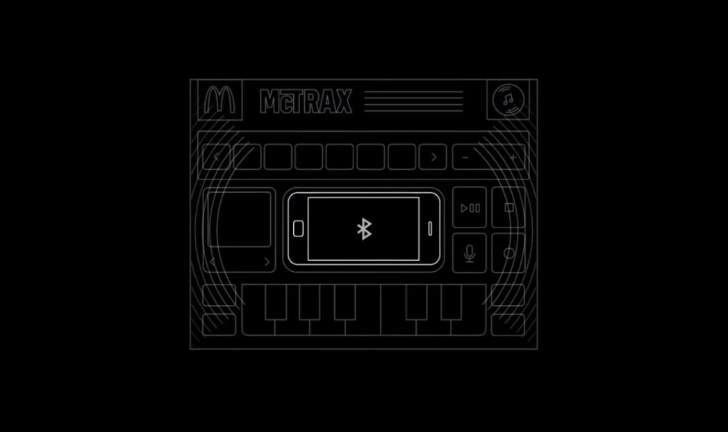 como funciona a toalha de papel do McDonald's que cria música eletrônica