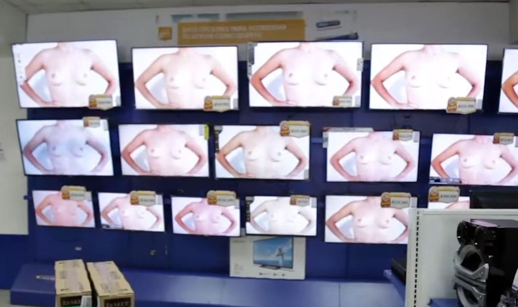 O câncer de mama não pode ser censurado