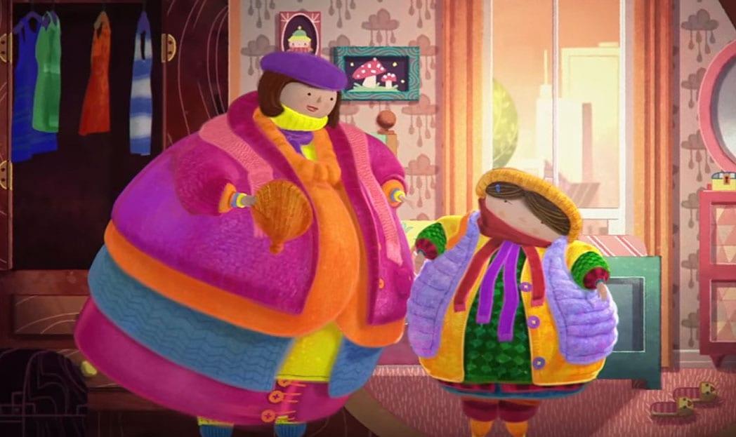 Campanha do agasalho usa curta de animação para incentivar doações