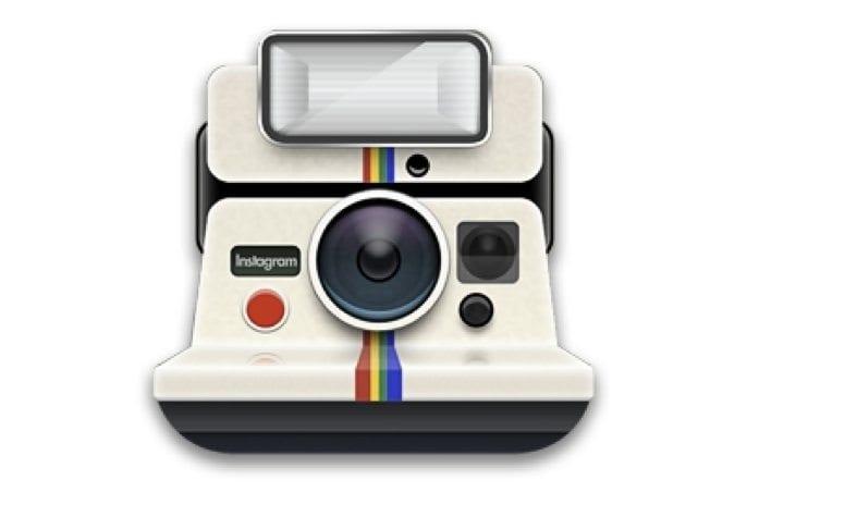 Logo original do Instagram